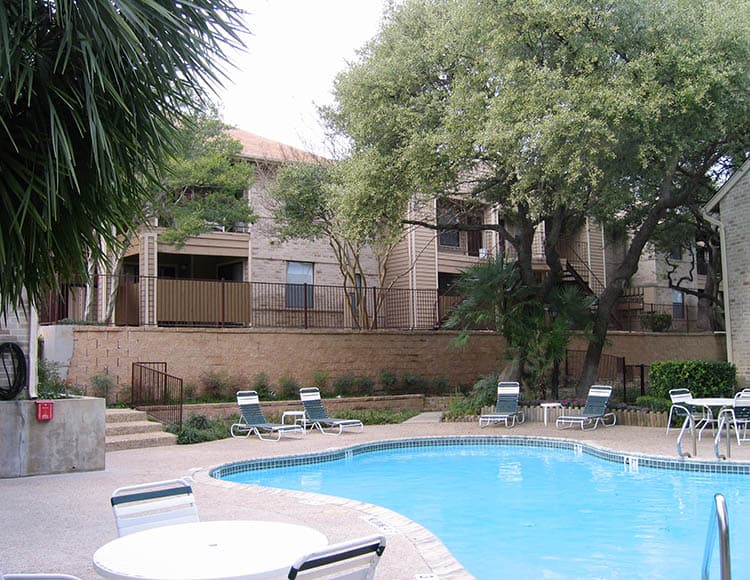 Beautiful pool at Woods of Elm Creek in San Antonio