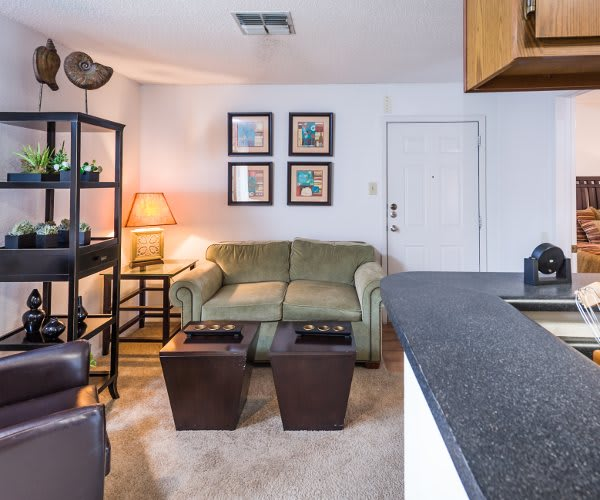 Well decorated spaces at Fountainhead in San Antonio