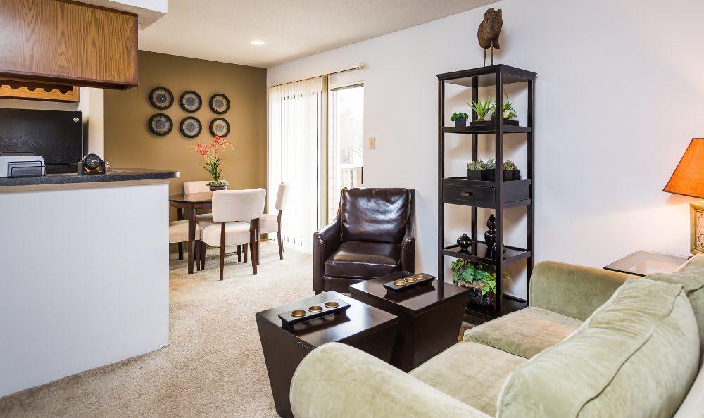 Living area at Fountainhead in San Antonio