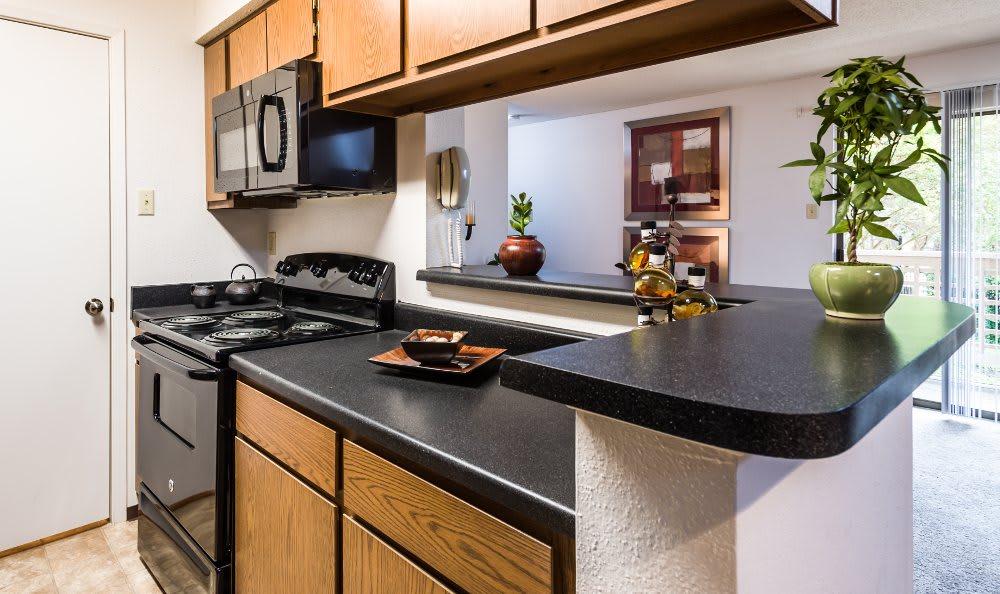 Gorgeous kitchen at Fountainhead in San Antonio