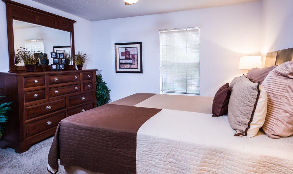 Bedroom at Fountainhead in San Antonio