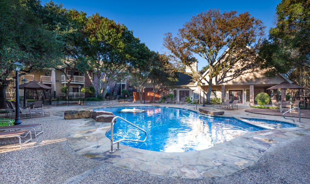 Refreshing swimming pool at Fountainhead in San Antonio