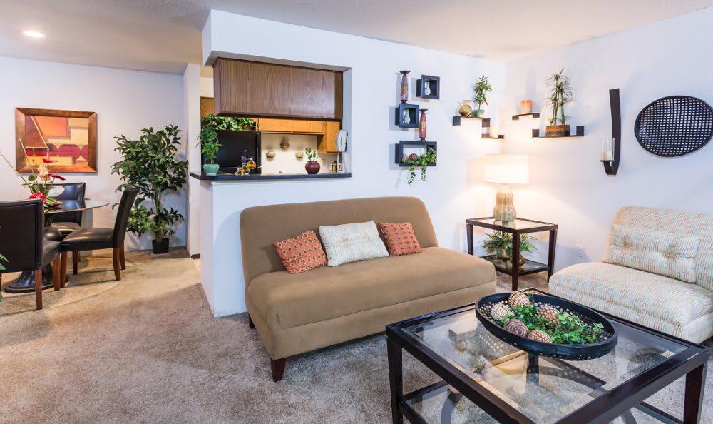 Beautifully designed spaces at Fountainhead in San Antonio