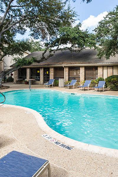 Refreshing resort-style swimming pool at Landera