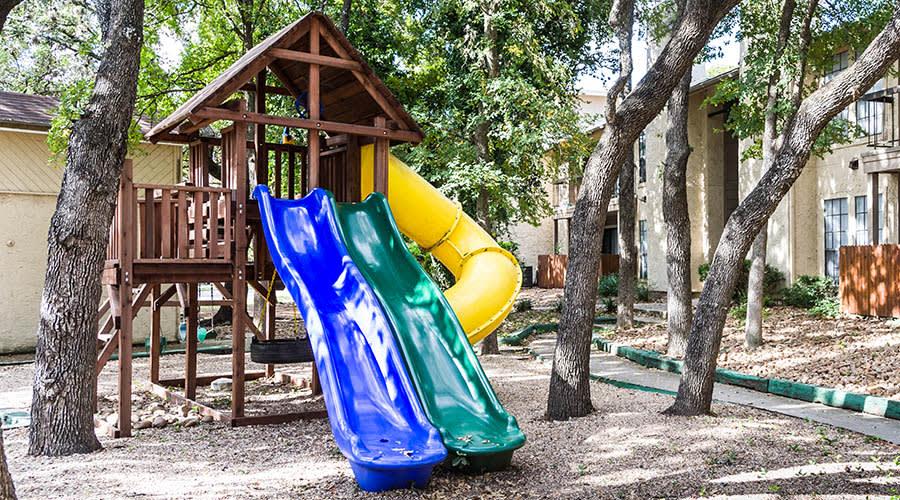 playground at Landera in San Antonio