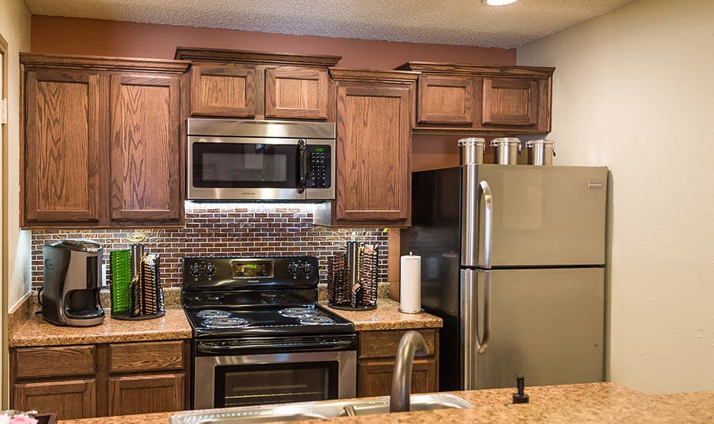 Stainless Steel Appliances At Landera