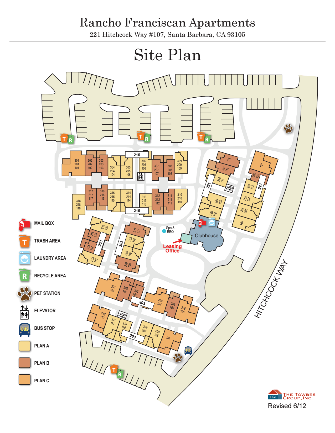 View our property map of Rancho Franciscan Senior Apartments