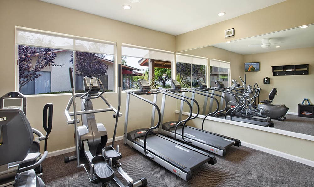 Cardio Equipment at Shepard Place Apartments in Carpinteria, CA