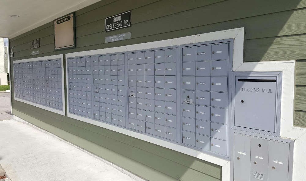 Mail at The Reserve at Braes Forest in Houston, TX