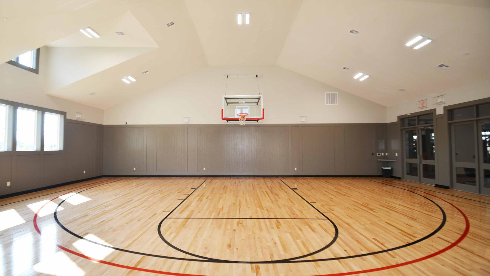 basketball court at ParkLane Cypress in Cypress, TX