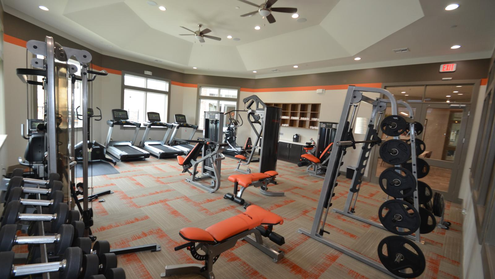 fitness center at ParkLane Cypress in Cypress, TX