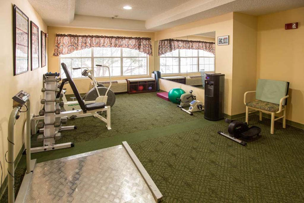 Excerceise And Fitness Center at Summer Breeze Senior Living in Savannah, GA