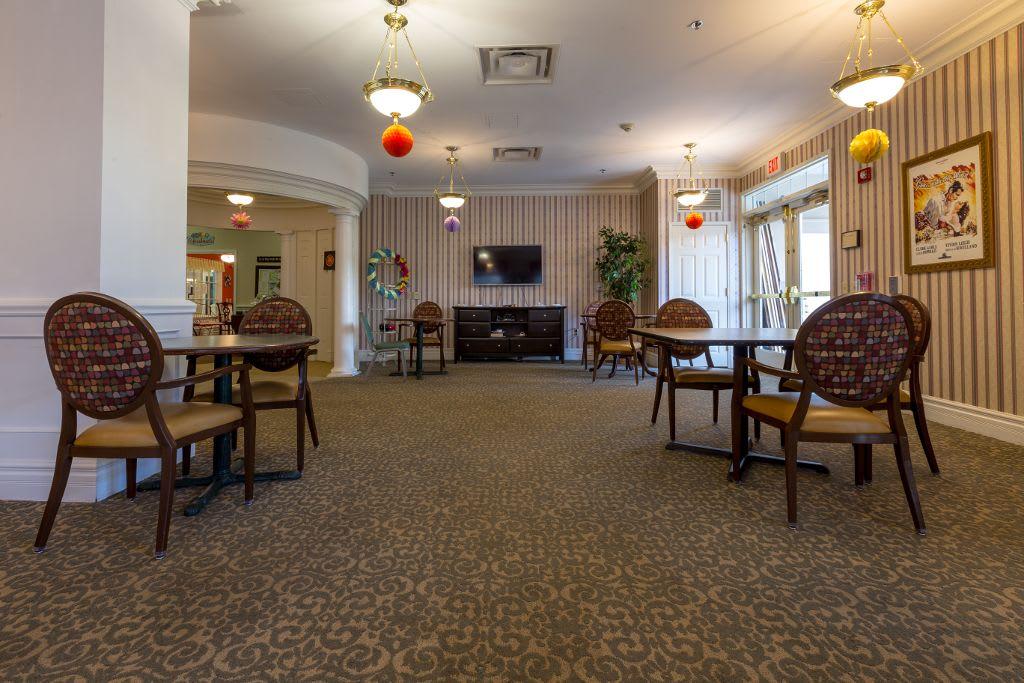 Dining room at Bear Creek Senior Living Community