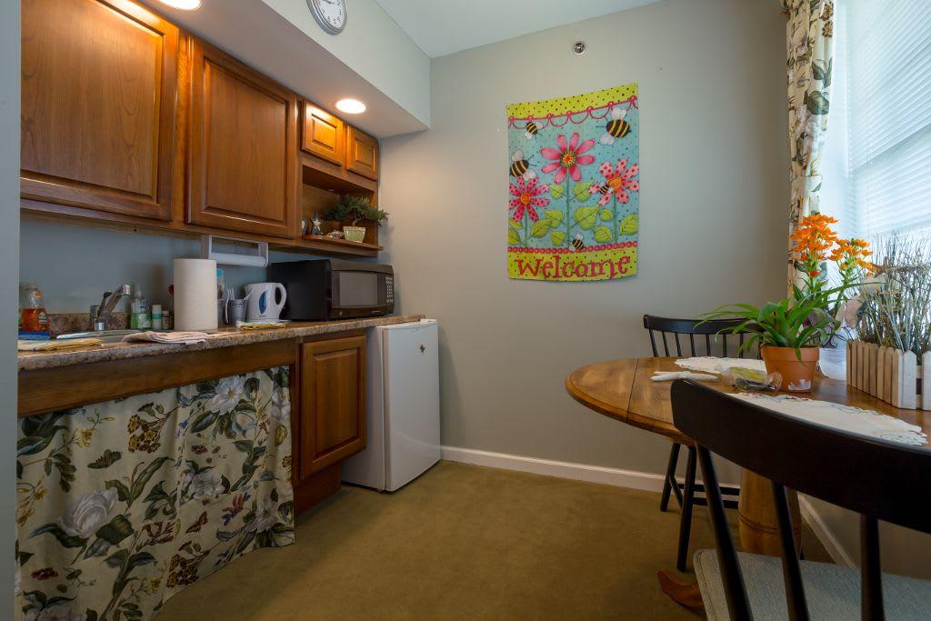 Kitchen at Bentley Assisted Living at Branchville