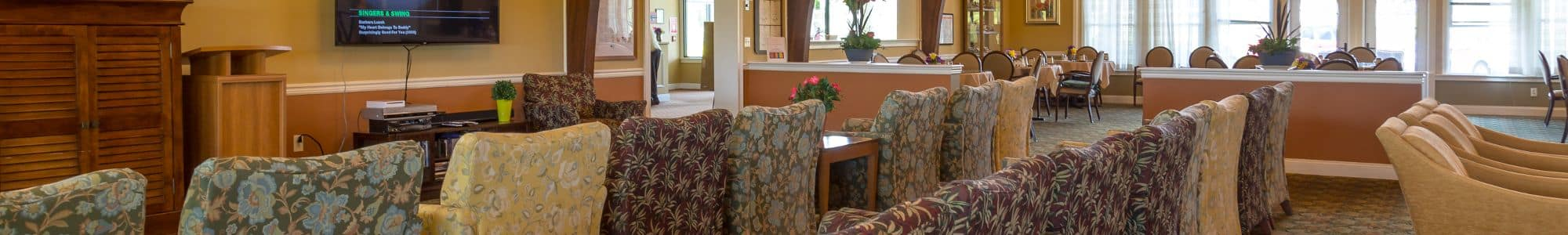 Bentley Assisted Living at Branchville offers excellent dining options in Branchville