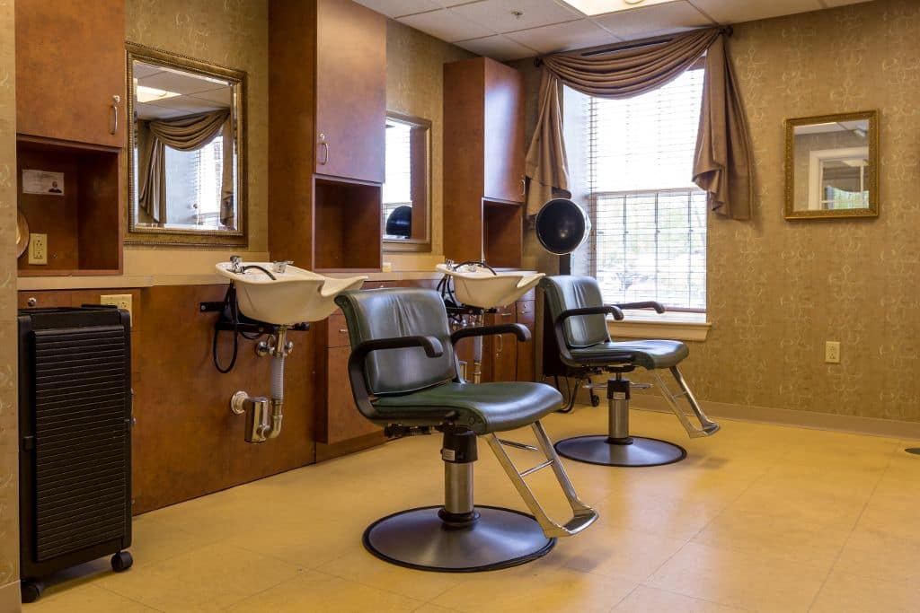 Beauty salon at Bentley Commons at Keene in Keene, NH