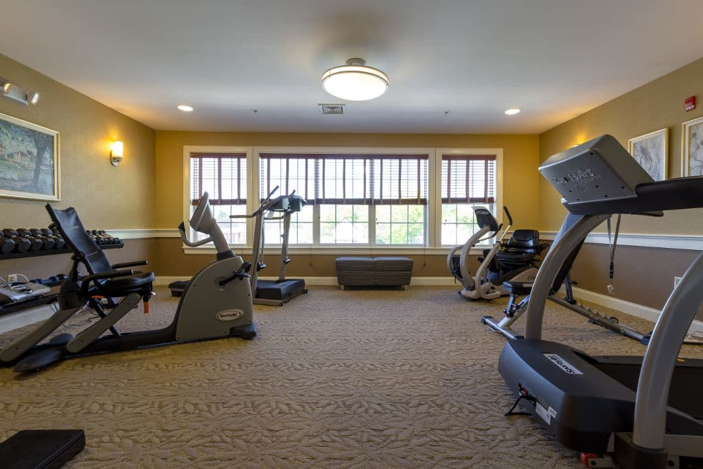 Gym at Bentley Commons at Keene in Keene, NH