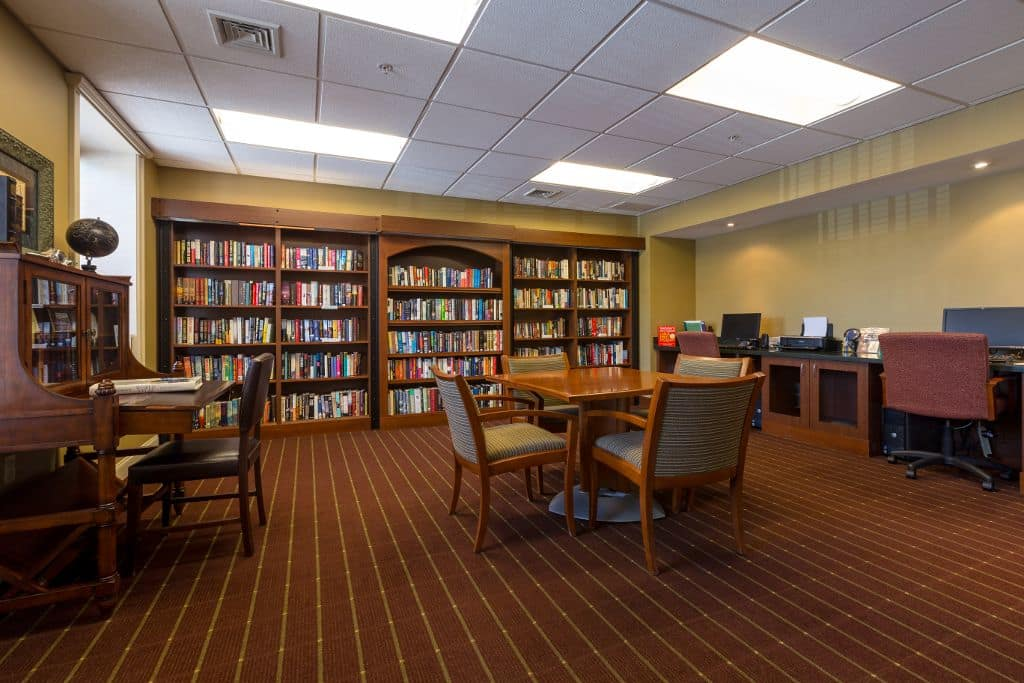 Study at Bentley Commons at Keene in Keene, NH