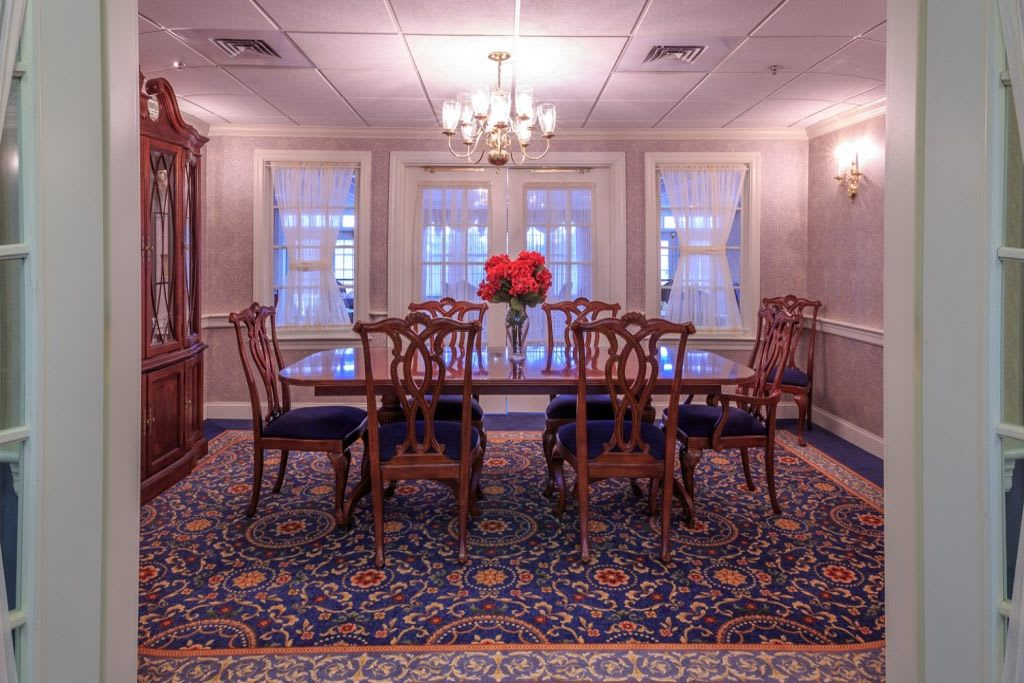 Meeting room at Bentley Commons at Lynchburg in Virginia