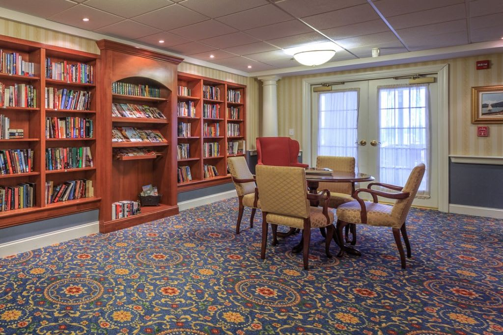 Study room at Bentley Commons at Lynchburg in Virginia