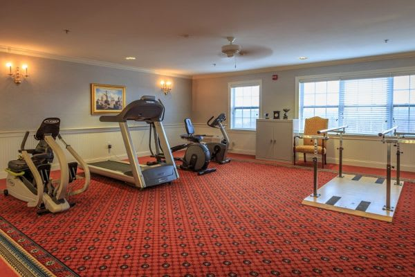 Gym at Bentley Commons at Lynchburg