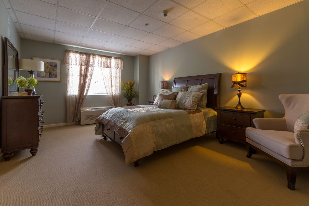 Bedroom at Bentley Commons at Paragon Village