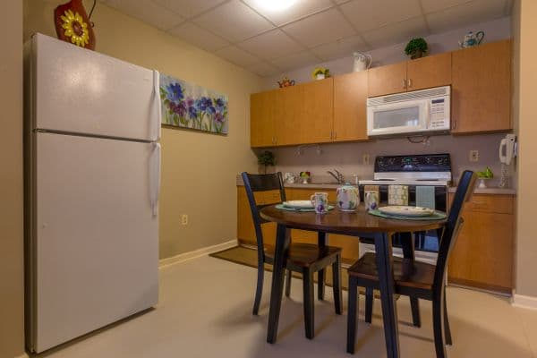 Kitchen at Bentley Commons at Paragon Village