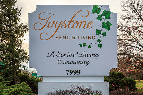 Signage at Ivystone Senior Living