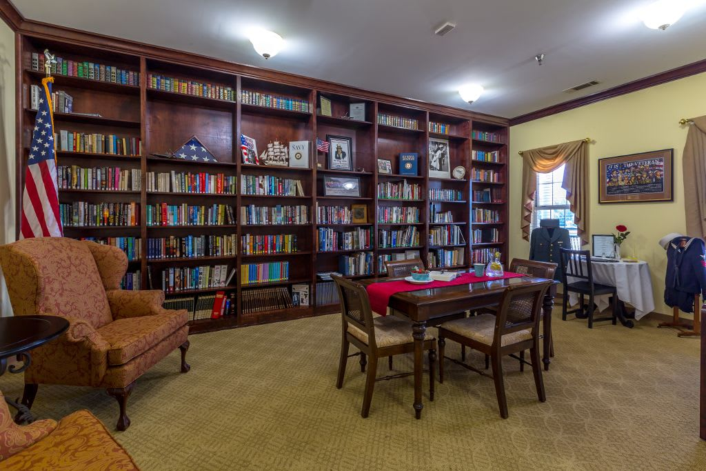 Study room at Merryvale Assisted Living