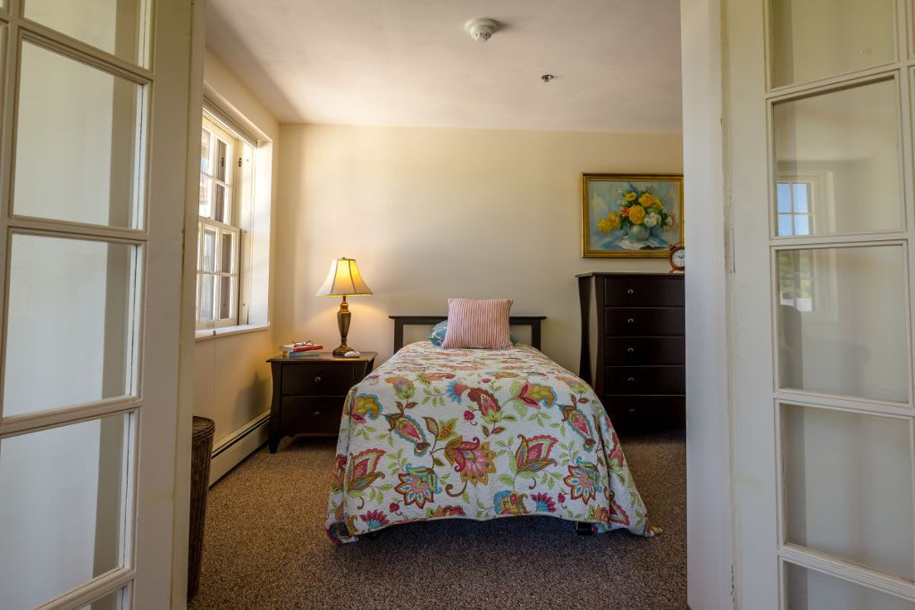 Bedroom at Saranac Village at Will Rogers