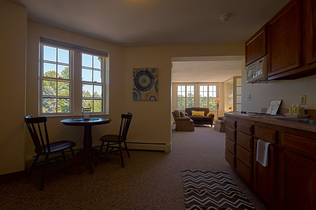 Interior apartment at Saranac Village at Will Rogers
