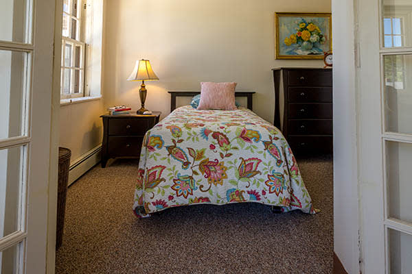 Comfortable living spaces at Saranac Village at Will Rogers