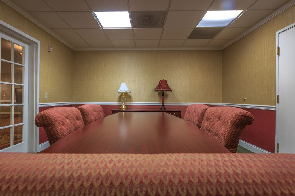 Meeting room at The Brookside Assisted Living Community