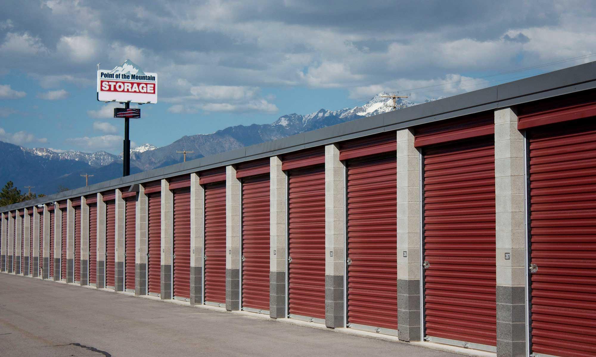 Self storage in Bluffdale UT