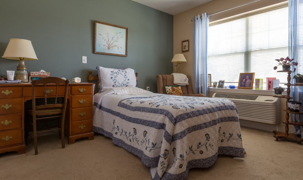 All American Assisted Living at Hanson bedroom