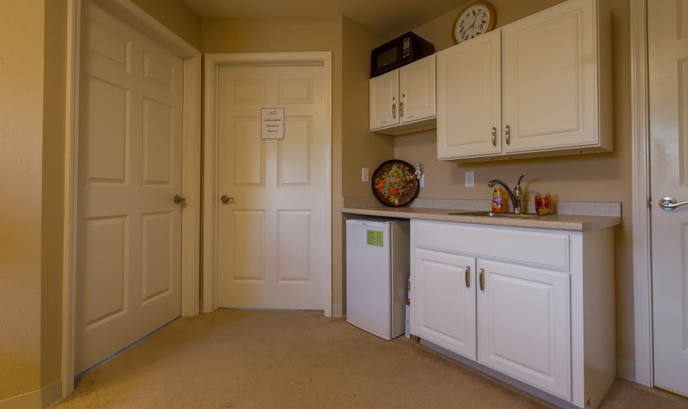 All American Assisted Living at Hanson kitchen area