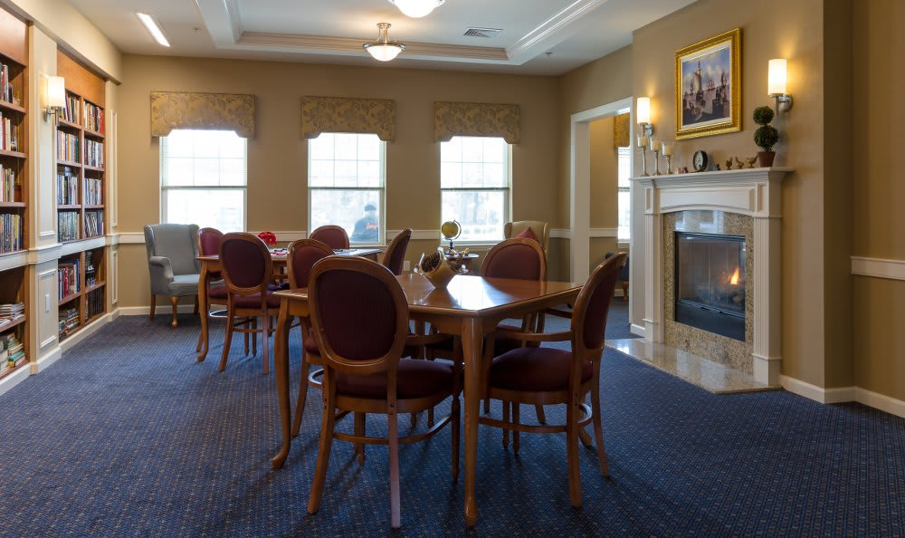 All American Assisted Living at Hanson library