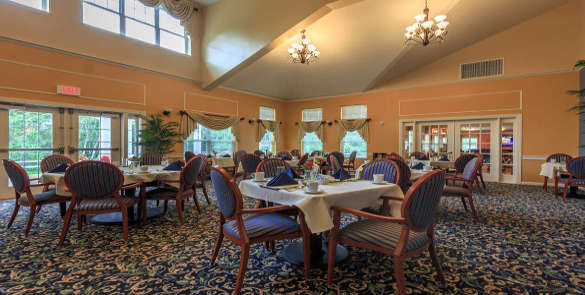 All American Assisted Living at Raynham's restaurant