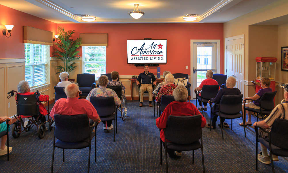 Activities and events at All American Assisted Living at Wrentham