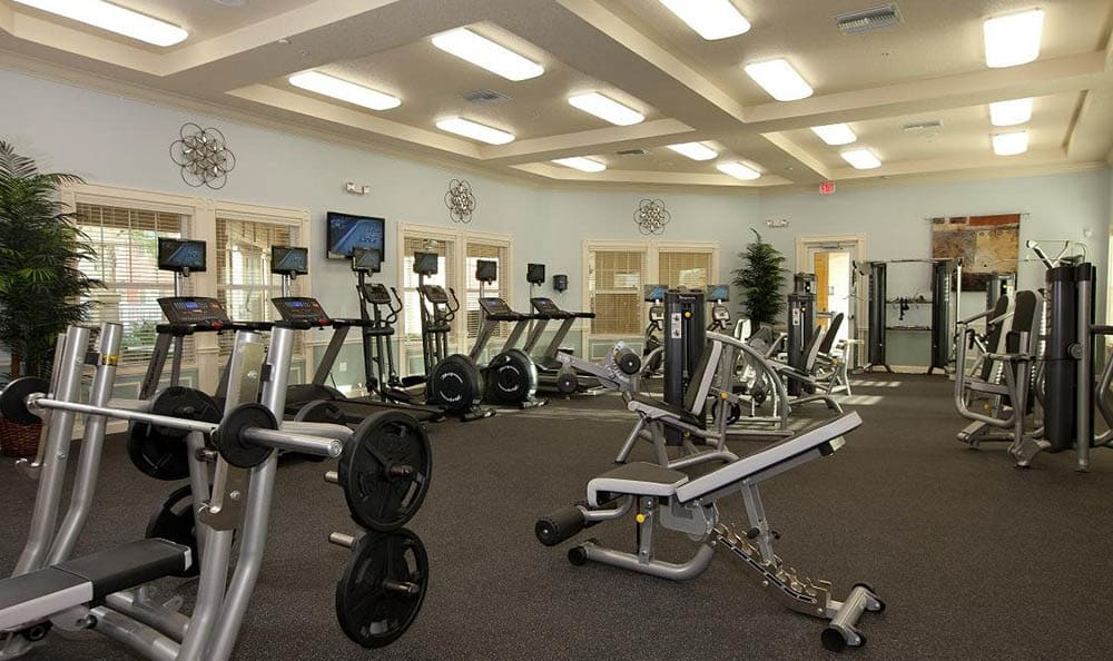 Fitness Area At Lost Creek at Lakewood Ranch
