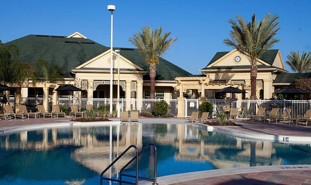Pool And Clubhouse At Lost Creek at Lakewood Ranch