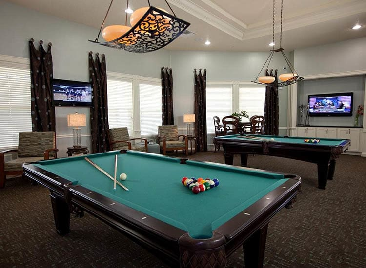 Pool Tables At Lost Creek at Lakewood Ranch