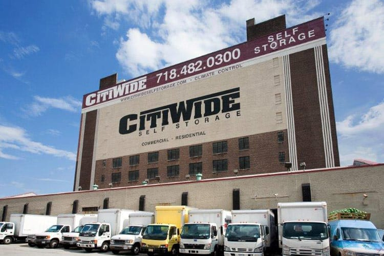 Our storage aisles are always clean and free of debris at CitiWide Self Storage.