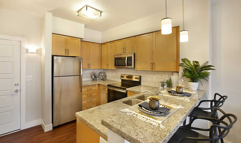 Spacious kitchen in our Salt Lake City, UT apartments