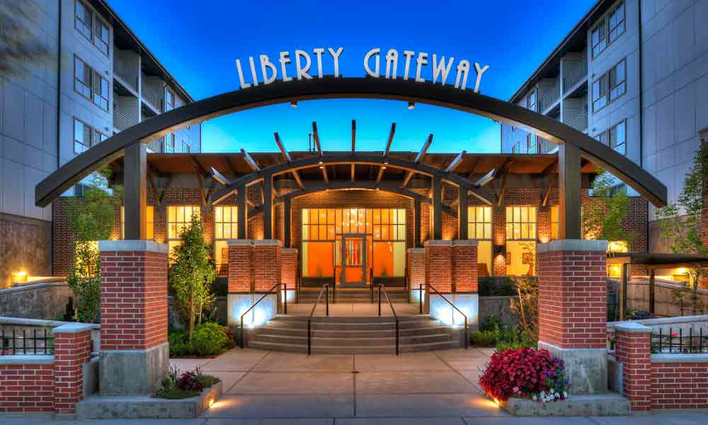 Front Entrance At Liberty Gateway