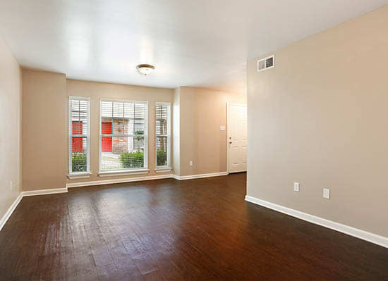 Large Living Room Windows At The Mayfair Apartment Homes In New Orleans