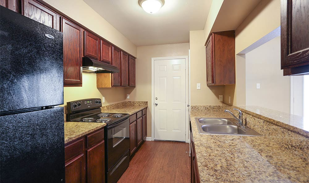 The Mayfair Apartment Homes Kitchen