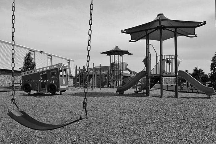 Emerald Pointe Apartment Homes playground in Harvey