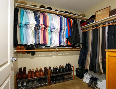 huge closet at The Meridian at Lake San Marcos in San Marcos, CA