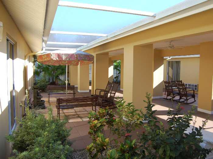 Beautiful lounge at Sun City Senior Living